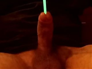 Glowstick in my meat stick